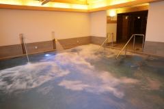 centro benessere - dettaglio piscina e cascate