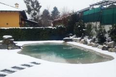 piscina naturale bio couture   innevata
