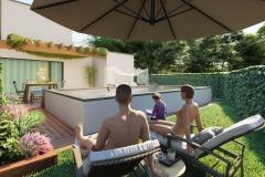 piscina Primaverapool piscina fuoriterra render