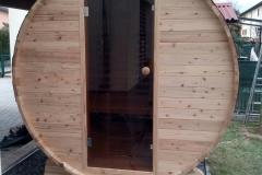 outdoor sauna- sauna da esterno-  infrarossi