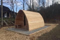 outdoor sauna- sauna da esterno-