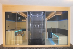 SASHA trittico - jacuzzi-sauna-bagnoturco-doccia emozionale
