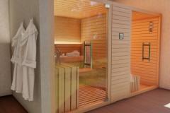 sauna infrarossi sauna finlandese e bio sauna