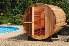 outdoor sauna- sauna da esterno-  finlandese